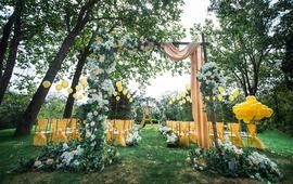 【花轿喜屋】钟情-草坪主题婚礼-轻定制精品