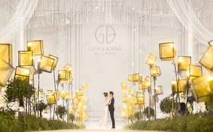 【W.E wedding】《悒》白色简约时尚婚礼