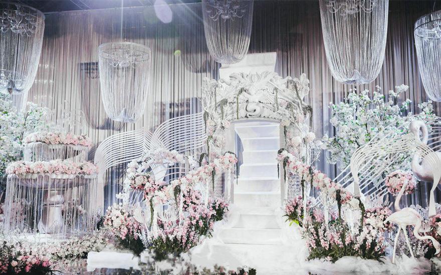 《富士山下》主题婚礼布置