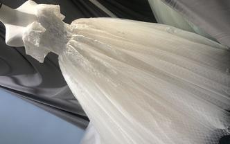 泽颜——台湾婚礼现场大拖主纱