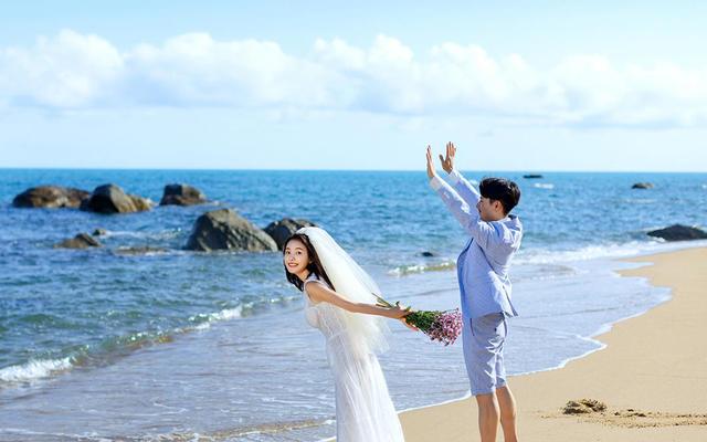 三亚旅拍 鲜檬摄影【穿着婚纱去旅行】