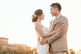 兰乔圣菲室外婚礼--非常难忘的一场婚礼