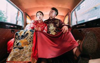贝菈新娘【2019超值套餐】+拖尾仪式纱3件套