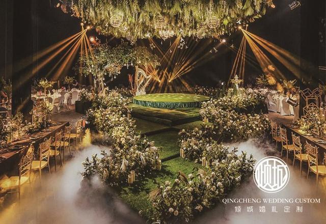 《仙踪》--奢华森系自然婚礼