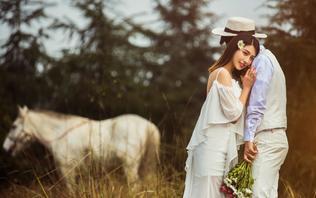 森林城市 时尚街拍 童话森系 5组重庆旅拍婚纱照