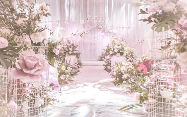 『渔田婚礼』只你  粉色 甜美 浪漫 唯美