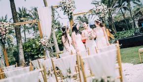 【目的地婚礼】一价全包海岛婚礼+一条龙服务