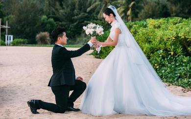 【三亚13号婚礼馆/沙滩婚礼】嫁给初恋的你