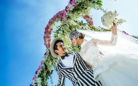 索菲亚9999元 一对一婚纱套系 电影剧情式拍摄