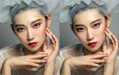 Lady May首席化妆师全程跟妆作品