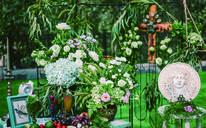 醒来 美式复古户外草坪婚礼