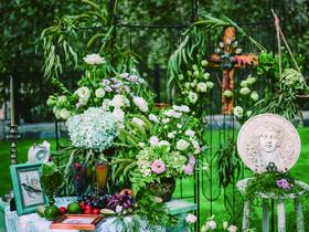 醒来|美式复古户外草坪婚礼