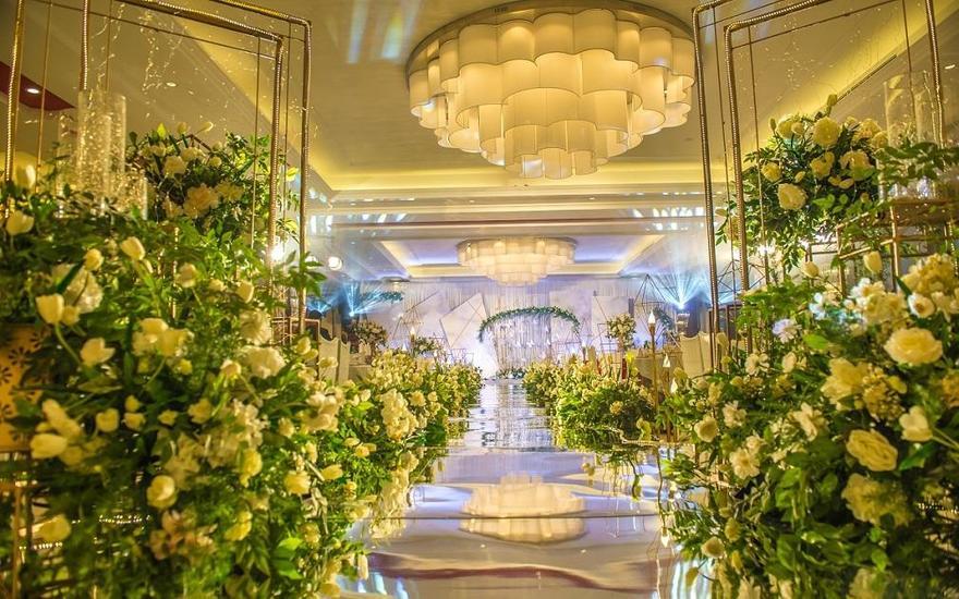 橙果婚礼——白绿色系婚礼