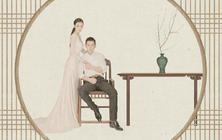原木映画❤工笔画婚纱套餐❤中国风❤无任何隐形消费