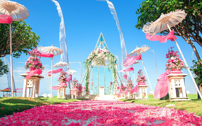 【罗曼斯海外婚礼】巴厘岛美乐滋小教堂婚礼