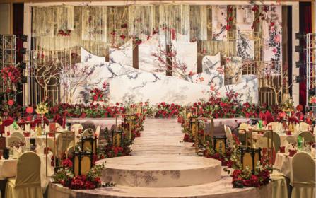 【洛维思·印象】中式风婚礼—送首席四大+婚车布置