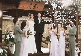 90后韩式新美学 有感知有温度会讲故事的婚纱照