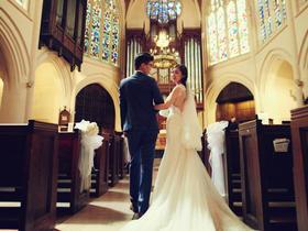 【巴黎】美式大教堂婚礼,复古城堡。