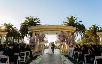 【洛杉矶丽思卡尔顿】天使之城 纯美式简约大气婚礼