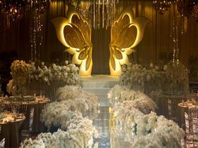 【东方花园】大气典雅主题创意鲜花婚礼布置