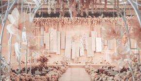 《Brave》香槟色系梦幻西式主题婚礼