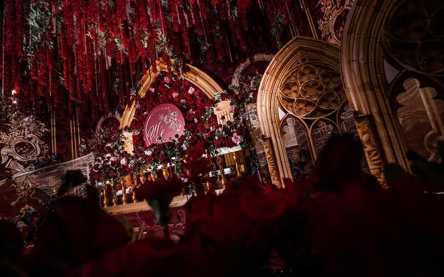【金典幸福】 红金巴洛克|深红玫瑰的时刻