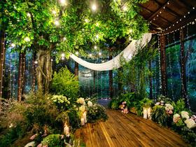 果园西餐厅 森系风婚礼布置【爱情·她的样子】