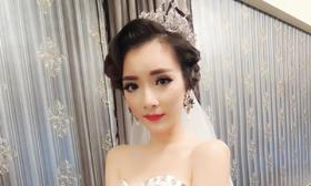 【艾斐新娘造型】♥♥♥时尚的水波纹新娘造型