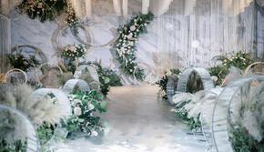【梦享婚礼】白绿精致婚礼 小型婚礼首选 #寻觅#