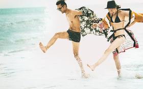青岛原创旅拍婚纱来组海边的大片   是不是很喜欢