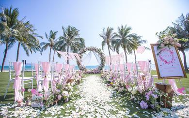 【糖果海外婚礼】三亚   粉红的回忆