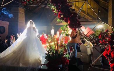 【小姐姐的婚纱店】新娘现场照