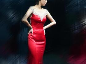 【特价回馈】红色妖姬婚纱礼服【AROUND】