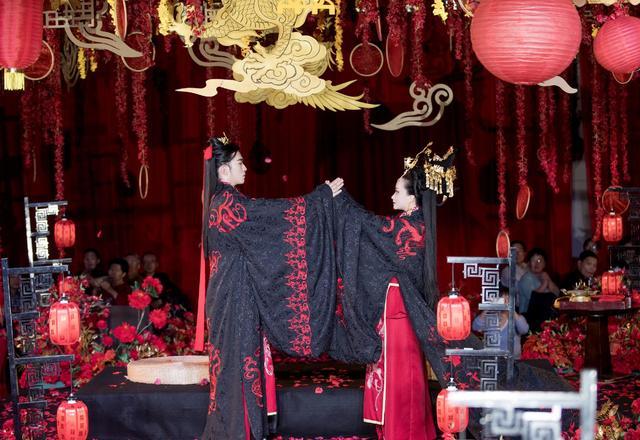 汉式周制传统婚礼-金柯玉叶汉式婚礼