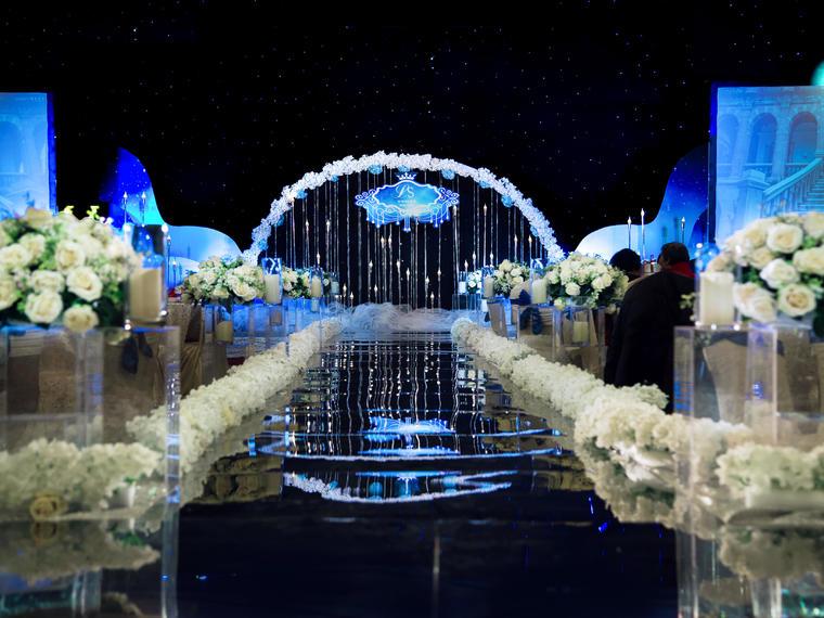 星空婚礼布置「今笙至尚」「星の未来」「励进海升酒店」