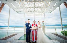 巴厘岛 安纳塔拉 水晶教堂婚礼