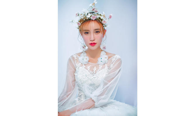 花漾系列——浪漫甜美的花漾新娘!