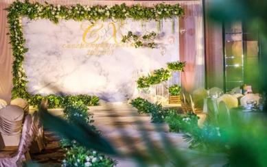 韩式小清新花艺主题婚礼(蔓锐婚庆)