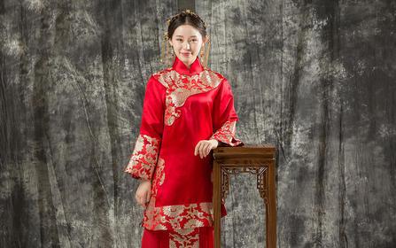 超值定制秀禾服 | 金丝银线 中式嫁衣