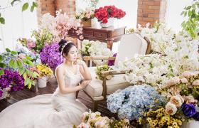 【韩国艺匠客照欣赏】《一片花海》
