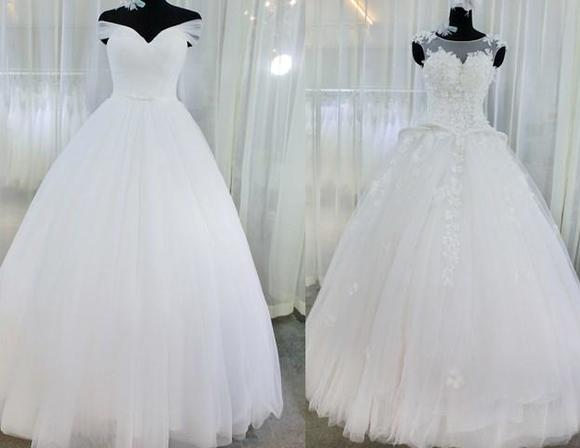 ESONE热销挚爱系列白色婚纱 全场任选7件套
