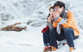 【探访雪乡】童话之旅❤高山滑雪❤一套不一样的婚照