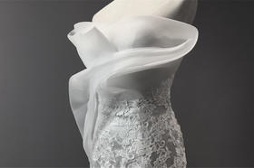 婚纱细节︱高端定制绸缎鱼尾服