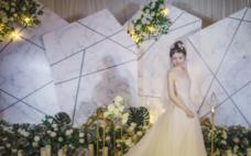 《大理石纹理灰色系列婚礼》