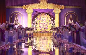 蜜路婚礼之【复古华丽的盛宴】西式主题婚礼