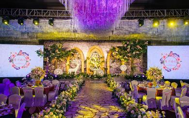 【摩卡婚礼】轻奢秘密花园主题婚礼