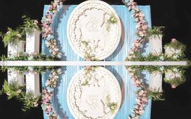铂斯特婚礼——清新浪漫婚礼《缘分天注定》