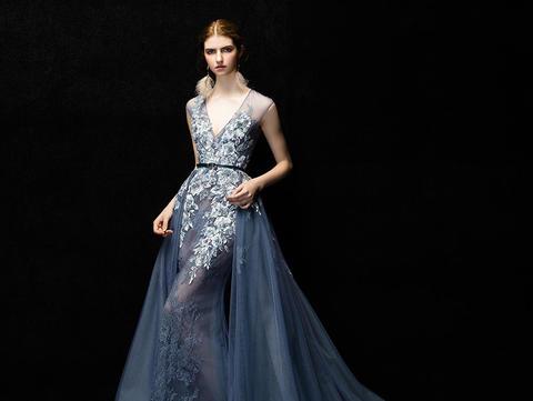 2018PINKY双色婚纱新品礼服系列(拍这个)