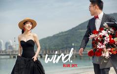 【三亚站/客片】原野映像环球旅拍-黄浩&吴相汝