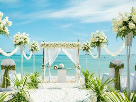 普吉岛梦幻沙滩挚爱婚礼